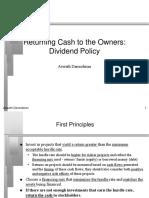 Dividend Presentation