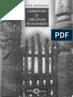 I.ghinoiu – Sărbători Şi Obiceiuri Româneşti [an]