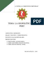 La Geopolitica Del Peru