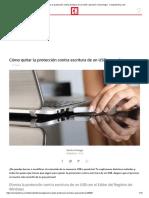 Cómo Quitar La Protección Contra Escritura de Un USB o Pendrive _ Tecnología - ComputerHoy.com