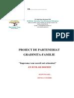 Proiect de Parteneriatgradi-familie