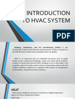 Introduction to Hvac System