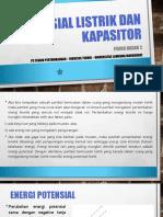 Kuliah 4_Potensial Listrik  Kapasitor.pptx