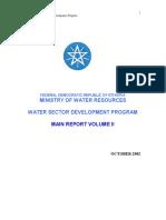 Water Sector Development Program Vol 2