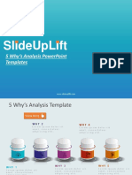 5 Whys Analysis PowerPoint Templates