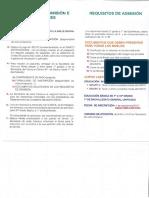 Requisitos de Admisión 2018-2019
