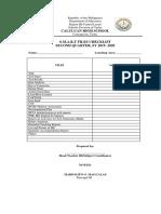 Smart files checklists