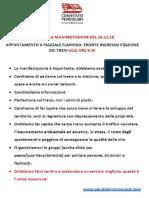 Manifestazione Roma Nord 16-11-2019