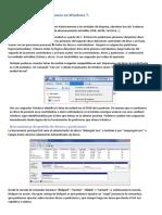 Discos y Particiones en Windows 7