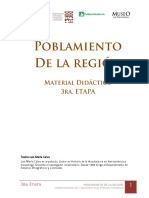 El poblamiento de la región (Santa Fe) Luis María Calvo