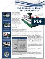 mixing mud system