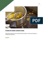 5 Formas de Reciclar Aceite de Cocina _ Bioguia