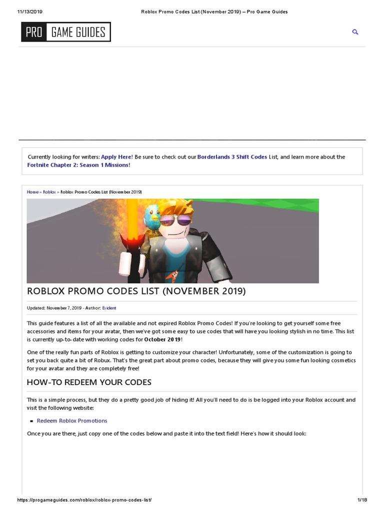 Roblox Promo Codes August 2019 Robux لم يسبق له مثيل الصور Tier3 Xyz