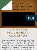 Los Grandes Descubrimiento Geográficos