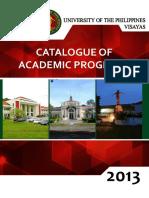 UPV Catalogue Academic Programs