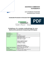 SPENS_D11_V13_Guidelines of a complex methodology for nondestructive pavement measuring techniques