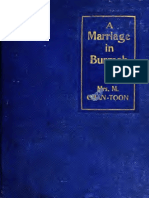 A Marriage in Burmah by Mrs. M. Chan-Toon