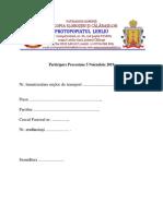 Lista Participanti 1 Parohie