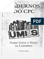 Notas Sobre o Heroi Na Literatura