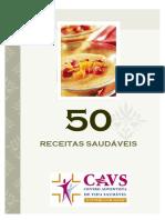 50 RECEITAS SAUDÁVEIS