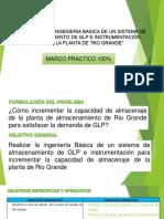 """Diseño de La Ingenieria Basica de Un Sistema de Almacenamiento de Glp e Instrumentación Para La Planta de """"Rio Grande"""" Parte i"""
