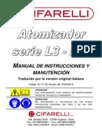 Manual Fumigadora Cifarelli L3A