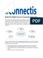 Build the Right Secure Corporate Networks