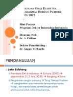 Profil Penggunaan Obat Diabetes Melitus di Puskesmas Bereng Periode Januari �C April 2019.pptx