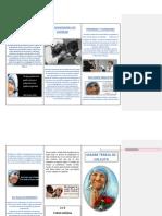 Folleto Madre Teresa de Calcuta