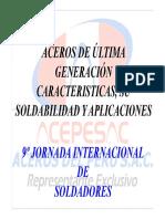 Aceros de Ultima Generación - Características-su Soldabilidad y Aplicaciones.pdf