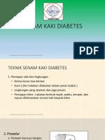 Senam Kaki Diabetes