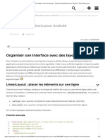 Organiser Son Interface Avec Des Layouts - Créez Des Applications Pour Android - OpenClassrooms