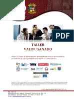 PMI Colombia - Taller - Valor Ganado