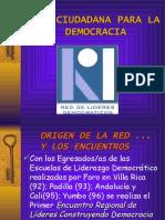 Ciudadania para la democracia