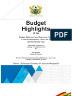 2019 Budget Highlights
