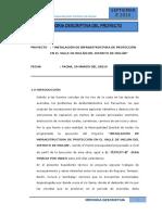 Memoria Descriptiva Inclán Ing Pizarro