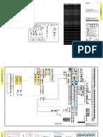 Electrical diagram CATERPILLAR 6020 B