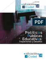 Políticas públicas educativas