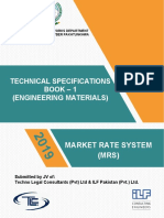 Material Specifications MRS KPK 2019