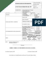 Ficha de Registro Pei