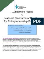 AssessmentRubricforNationalStandardsofPracticeEntrepreneurship.pdf