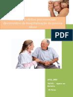 UFCD_3552_Patologia e Efeitos Psicossociais Decorrentes Da Hospitalização Da Pessoa Idosa