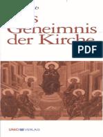 Buob, Hans - Das Geheimnis Der Kirche