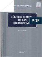 Regimen General de Las Obligaciones