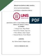 Practica4 Identificación y Caracterización de Materias Primas de Origen Animal
