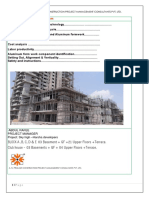 aluminum form work analysis