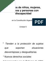 Derechos de Niños Muleres Ancianos y Discapacitados