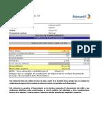 Calculo de Financiamiento F-250 Ramon Lopez