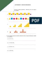 Guía 5° patrones