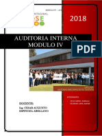 Trabajo de Auditoria - Modulo IV